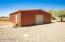 Large oversized additional detached garage