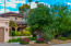 Lush front yard landscaping