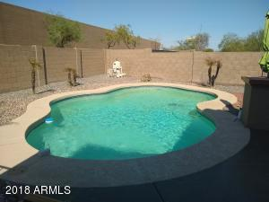 You can play a little pool volleyball or dive off the edge with this beautiful pool.