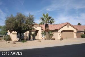 FRONT ELEVATION 20804 N. LIMOUSINE DR. SUN CITY WEST, AZ.