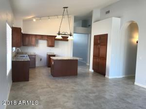 large family room fully tiled