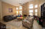 family room w/gas fireplace