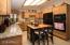 kitchen w/ granite
