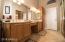 master bath w/ extra linen closets