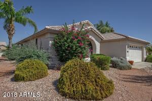 Lovely corner lot with mature landscaping.