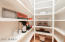 Walk-in Floor to ceiling shelving Kitchen Pantry