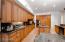 Kitchen Cabinetry and Sub Zero Fridge