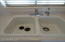 Dual sink/chrome faucets (Reverse Osmosis)