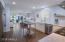 EXPANSIVE KITCHEN, DINING AND LIVING VIEW