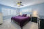 SPACIOUS MASTER BEDROOM WITH PLANTATION SHUTTERS