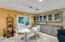 Eat in kitchen w/ extra cabinets