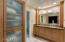 Quartz counters and Custom cabinets with tons of storage