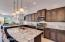 Stunning gourmet kitchen
