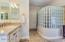 Master Ensuite 5- piece with large walk-in closet