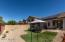 2nd view from lovely finished, low maintenance backyard with covered patio and NO NEIGHBORS BEHIND!