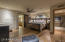 Master split floor plan; off entry hall