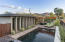 From elevated spa to pool and south rear yard. North mountain looms in the background...