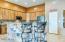 Bright Open Kitchen, Huge Breakfast Bar, Walk In Pantry