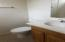casita bath - tub/shower to the left