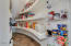 Walk in pantry and storage