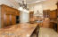 Alder Cabinetry, Built-In Refrigerator/Freezer, Double Ovens and 6-Burner Gas Range with Grill