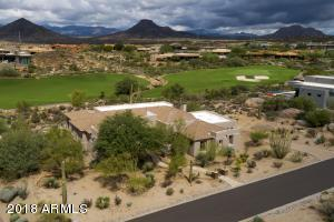Located on the 12th Fairway of Troon North's Pinnacle course with views of the Continental