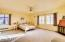 Master Suite with fireplace and private bath LOTS of Room Privacy, Beautiful Natural Light