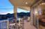 Large wrap around patio with amazing mountain views