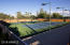 Lighted tennis courts for day or nighttime fun.