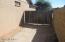 Side yard double gate