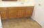 Mater bath has large tile flooring