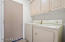 Laundry Room - More Cabinets Facing Washer/Dryer with Brand New Granite Counter