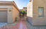 Entrance to Courtyard + Home