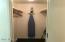 Large walkin master closet