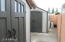 2 Sheds with electric on cemented left side of the yard. Electric