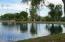 Fishing lake close by