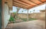 Nice covered patio to enjoy the AZ weather!