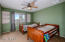Guest bedroom has been freshly painted in neautral color!
