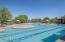 From lap lanes, a beach entry, spa and play area, this pool has it all!