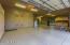 Full Epoxy Floor. Large Work Shop thru the Double Doors.