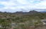 View from front of Estrella Mountains