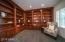 Private Library or Fantastic Home Office with Built-In Cabinetry