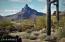 Pinnacle Peak view from neighborhood