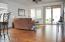 Great Room with laminate wood flooring