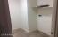 Indoor laundry. Gas & Elec dryer hookup