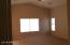Master Bedroom with Vaulted Ceiling and Ceiling Fan