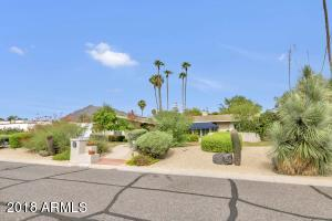 Beautiful front yard with View of Camelback.