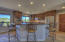 Stainless Appliances and large kitchen island for entertaining