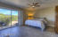 Spacious Master Bedroom with convenient separate exit