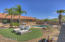 Beautiful backyard oasis with low maintenance synthetic grass